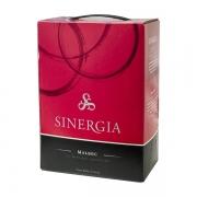 Vinho Tinto Sinergia Malbec Roble Bag in Box 3litros