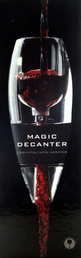 Aerador de Vinho em Acrílico Magic Decanter