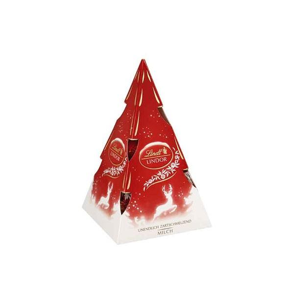 Árvore de Natal Lindt Lindor Ball ao Leite 112g
