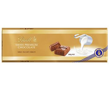 Barra de Chocolate Lindt Swiss Premium