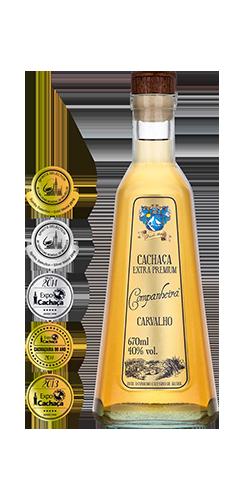 Cachaça Companheira Extra Premium Envelhecida  670ml