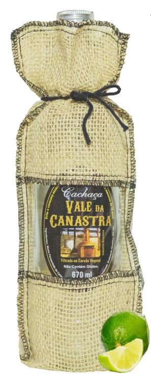 Cachaça Prata Vale da Canastra 670 ml