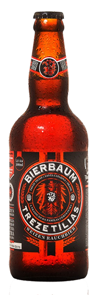 Cerveja Artesanal Bierbaum Treze Tílias Weizen  Rauchbier