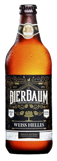 Cerveja Artesanal de Trigo Bierbaum Weiss Helles