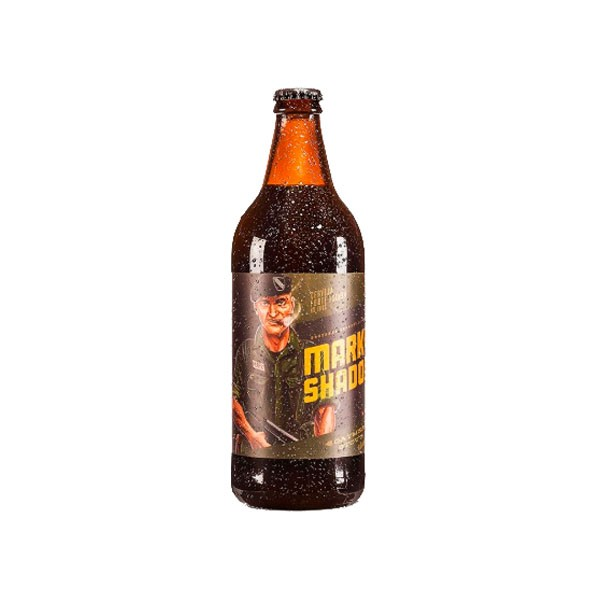 Cerveja Artesanal Forte Escura Mark The Shadow Stout  600ml