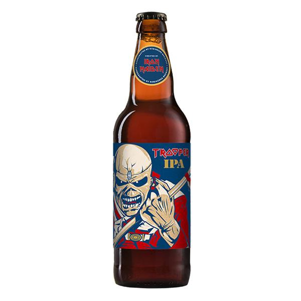 Cerveja Trooper Iron Maiden IPA Garrafa 500ml