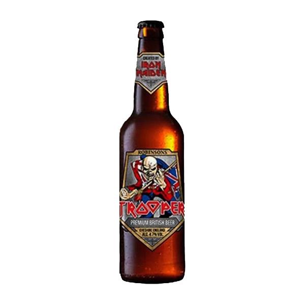 Cerveja Trooper Iron Maiden Premium British Garrafa 500ml