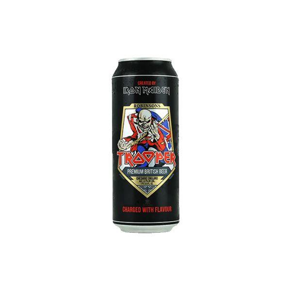 Cerveja Trooper Iron Maiden Premium British Lata