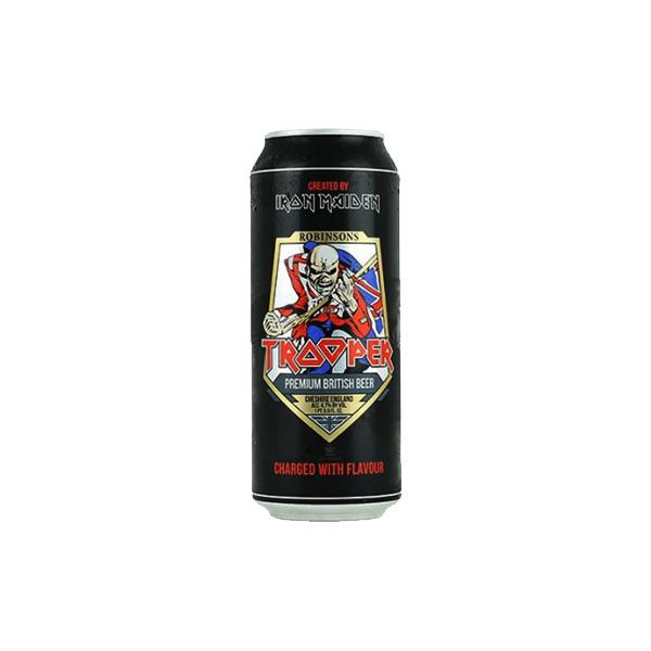 Cerveja Trooper Iron Maiden Premium British Lata 500ml