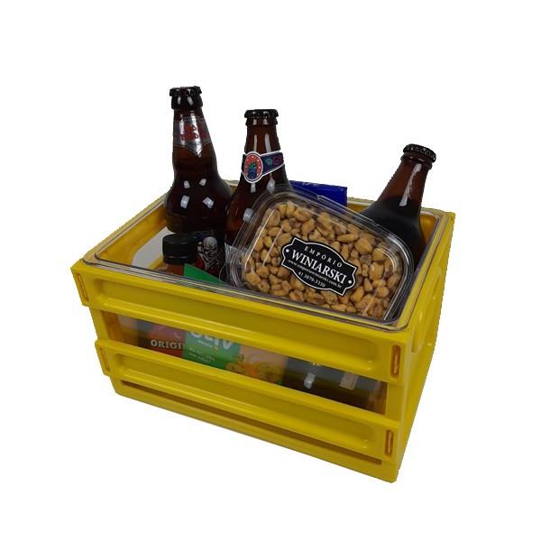 Cesta de Presente Especial com Engradado de Cerveja