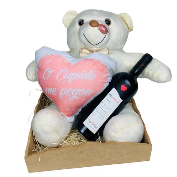 Cesta Urso Cupido