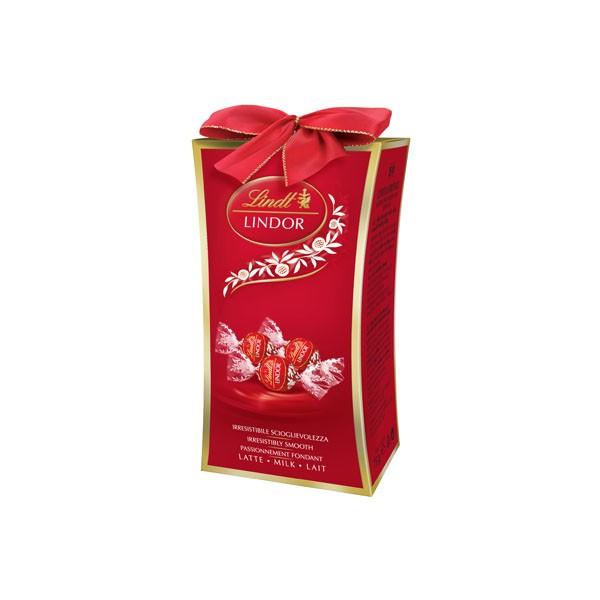 Chocolate Lindt Lindor Caixa Pillar Ao Leite 75g