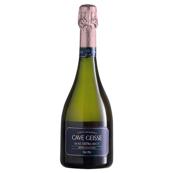 Espumante Cave Geisse Rosé Extra Brut 750ml