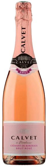 Espumante Francês Calvet Crémant de Bordeaux Brut Rosé 2017