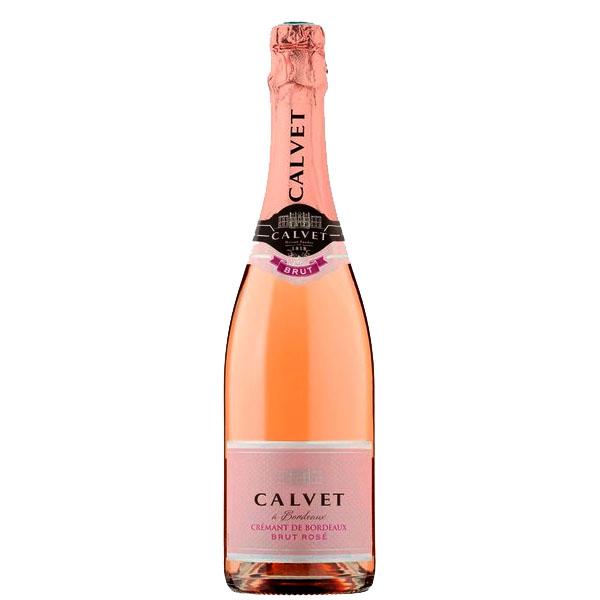Espumante Francês Calvet Crémant de Bordeaux Brut Rosé