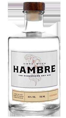 Gin Hambre 750ml
