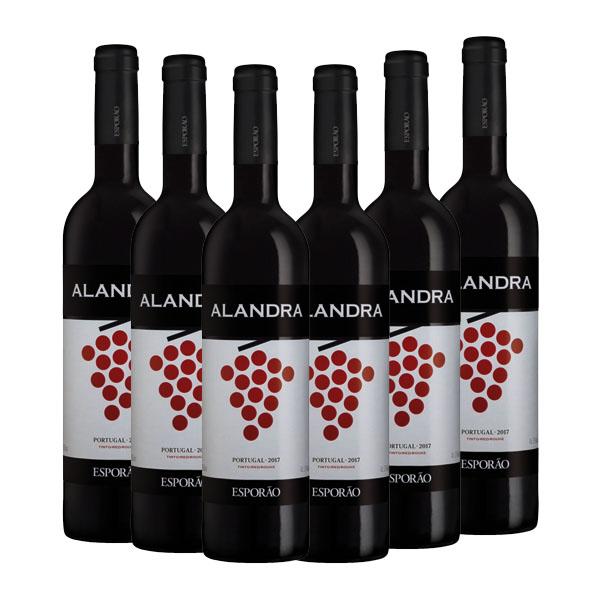 Kit 6 Vinhos Tinto Alandra Esporão 750ml