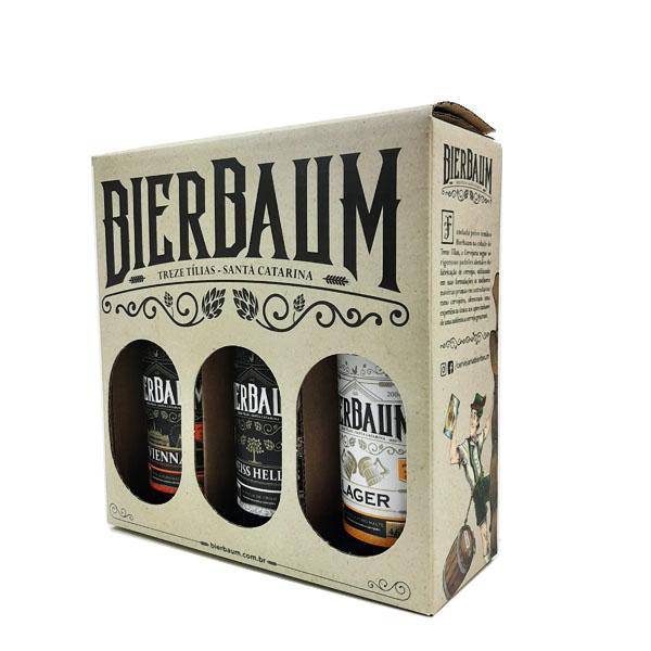 Kit de 3 cervejas Artesanal Bierbaum