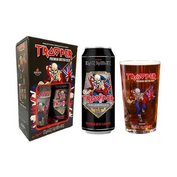 Kit de Cerveja Premium British Beer Iron Maiden Trooper