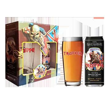 Kit  de Cerveja Premium Clara Ale Iron Maiden Trooper