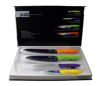Kit de Facas Yuze Linha Titanium