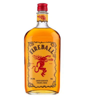 Licor Fireball Canela e Whisky 750ml