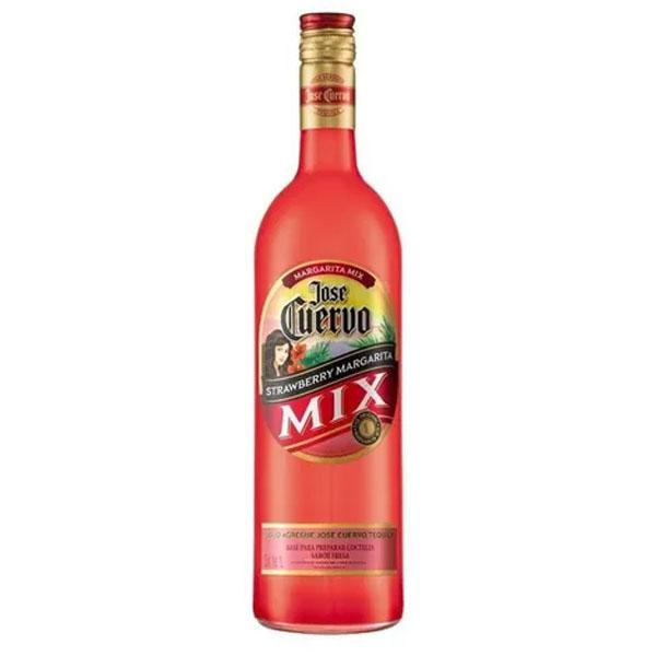 Margarita Mix Jose Cuervo Strawberry 1 Litro