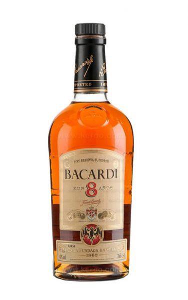 Ron Bacardi Reserva Superior 8 anos