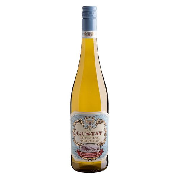 Vinho Branco Alemão Gustav Riesling Trocken 750ml