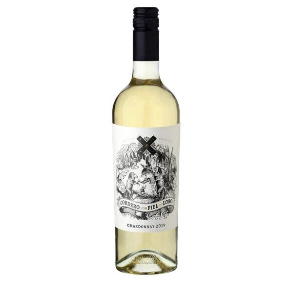 Vinho Branco Cordero com Piel de Lobo Chardonnay 750ml