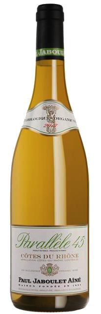 Vinho Branco Cotes Du Rhone Parallele 45 2017
