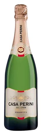 Vinho Branco Espumante Natural Casa Perini Brut Prosecco Método Charmat