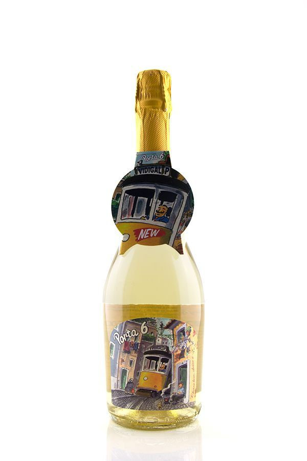Vinho Branco Espumante Porta 6 Brut 2015