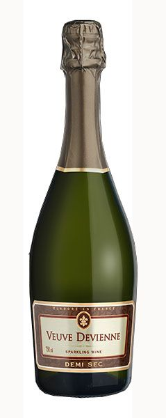 Vinho Branco Espumante Veuve Devienne Demi-Sec