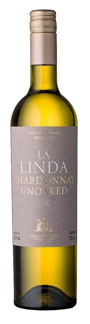 Vinho Branco La Linda Chardonnay Unoaked  2018