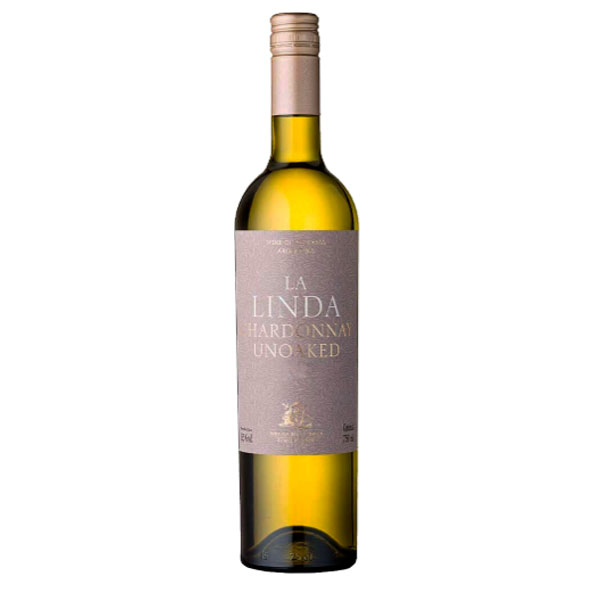 Vinho Branco La Linda Chardonnay Unoaked  750ml