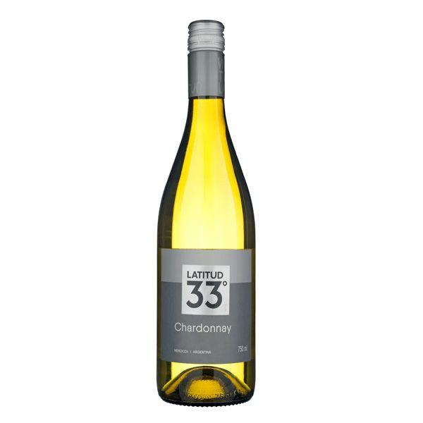 Vinho Branco Latitud 33 Chardonnay 750ml