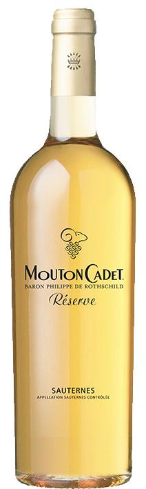 Vinho Branco Licoroso Mouton Cadet Réserve Sauternes  Baron Philippe de Rothschild