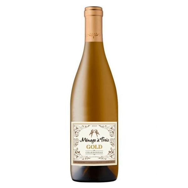 Vinho Branco Ménage à Trois Gold Chardonnay 750mL