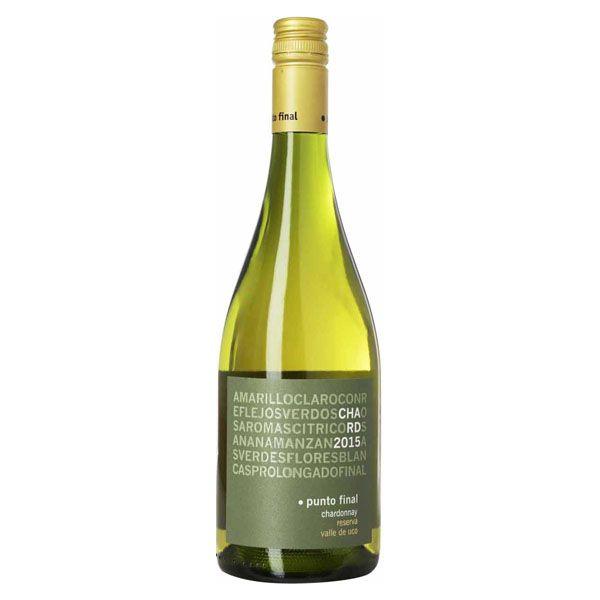Vinho Branco Punto Final Chardonnay Reserva 750ml