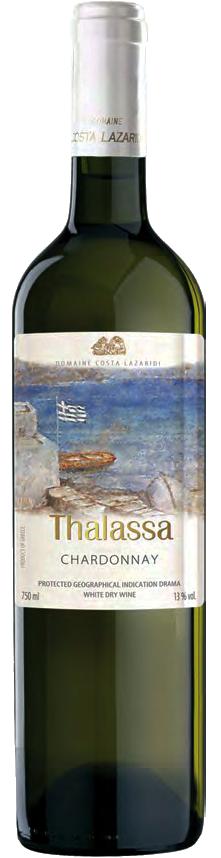Vinho Branco Thalassa Chardonnay 2018
