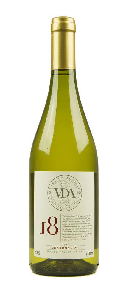 Vinho Branco Viña de Aguirre 18 Chardonnay 2017