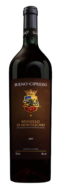 Vinho Bueno Cipresso Brunello di Montalcino 2007