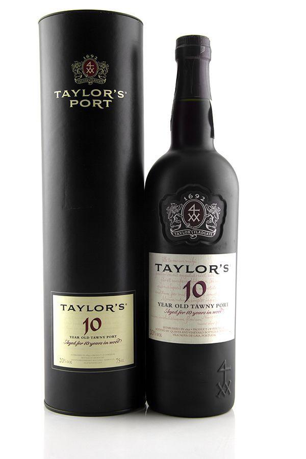 Vinho do Porto  Taylor's Tawny 10 anos