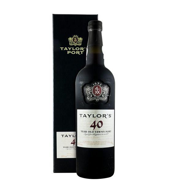 Vinho do Porto Taylor's Tawny 40 anos