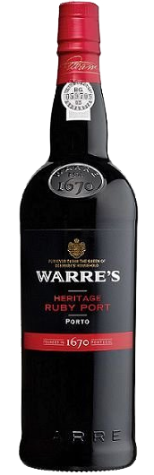 Vinho do Porto Warres Heritage Ruby Port