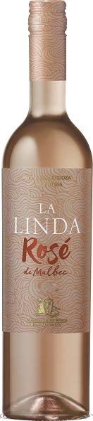 Vinho La Linda Rosé de Malbec 750ml