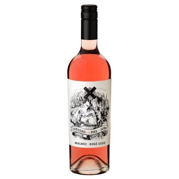 Vinho Rosé Cordero com Piel de Lobo Malbec 750ml