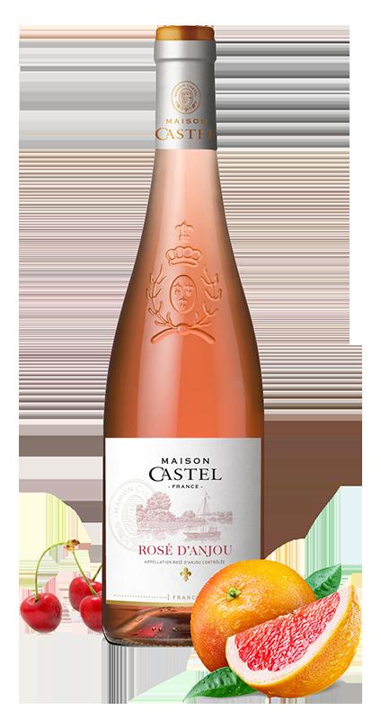 Vinho Rose Francês Maison Castel Rosé D'Anjou 2018