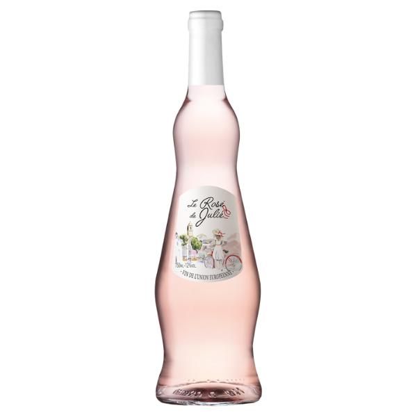 Vinho Rose Francês Rose de Julie 750ml